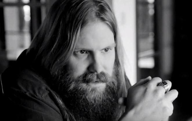 Chris Stapleton with a beard