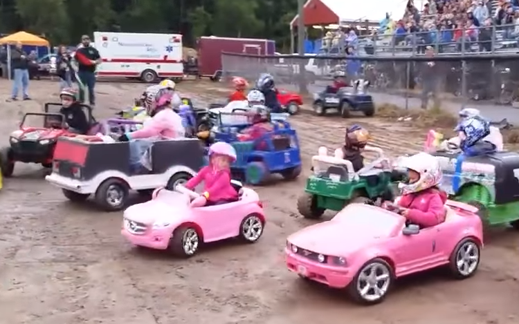 A group of toy cars