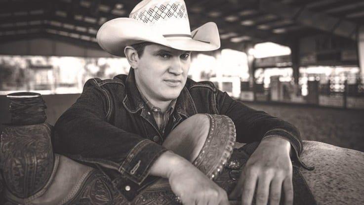 A man wearing a cowboy hat