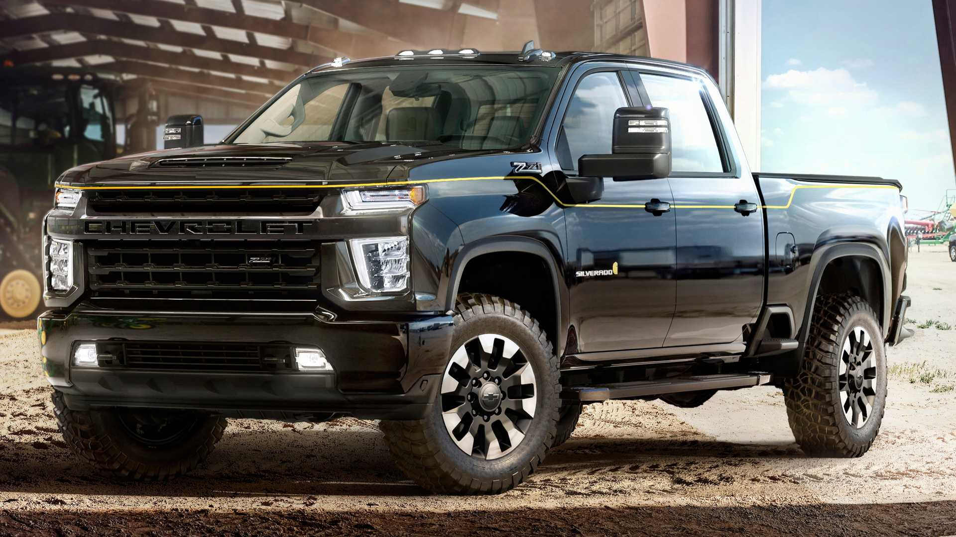 Carhartt & Chevy Team Up For Blue Collar Beast, Special ...