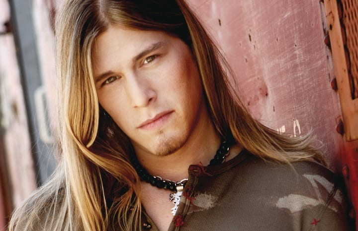 Jason Michael Carroll with long hair