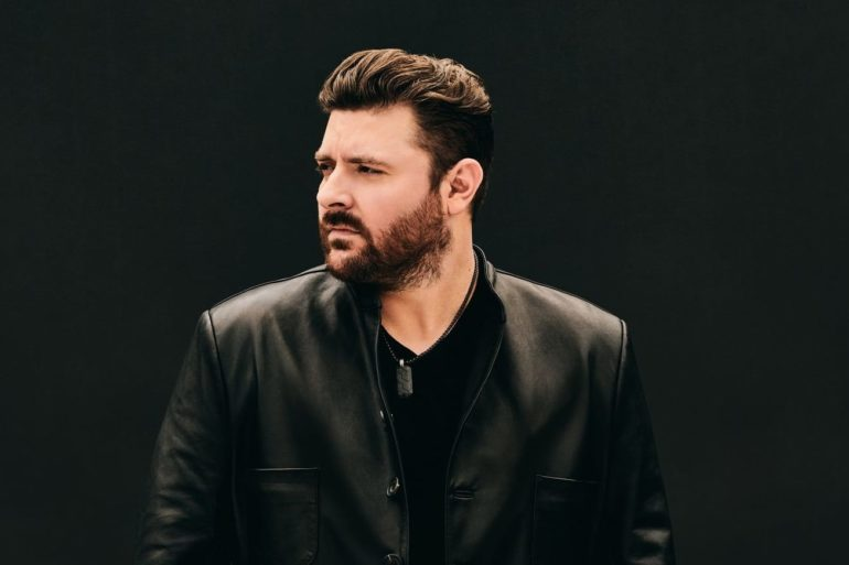 Chris Young with a beard