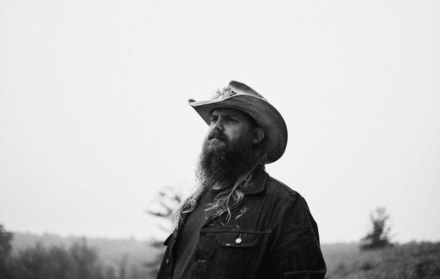 Chris Stapleton with a beard and a hat