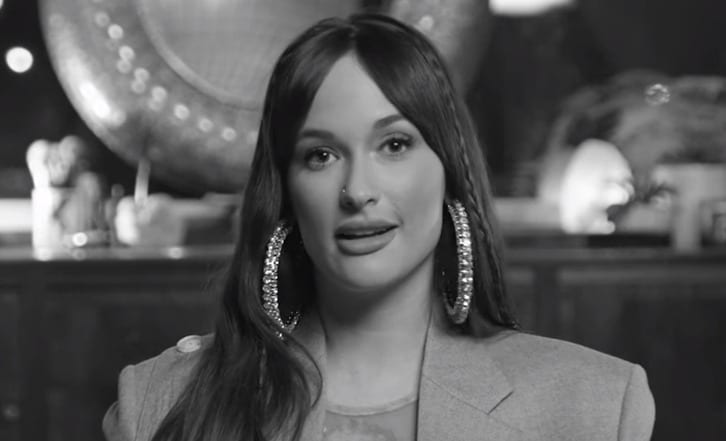 Kacey Musgraves with long hair