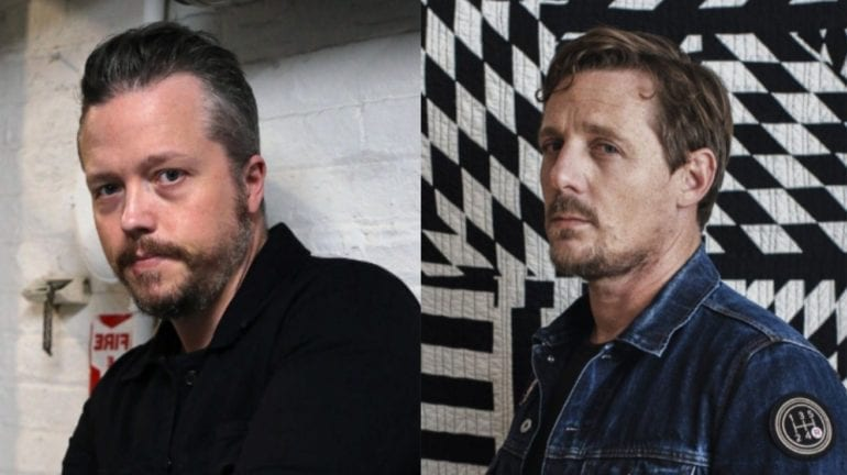 Jason Isbell, Sturgill Simpson are posing for a picture