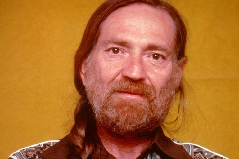 Willie Nelson with a beard